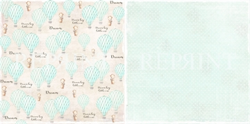 Happymade - RePrint - Blue Air Balloons - RP0226