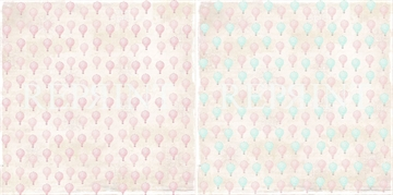 Happymade - RePrint - Small Pink Air Balloons - RP0227