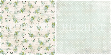 Happymade - RePrint - Flowers Blue - RP0232