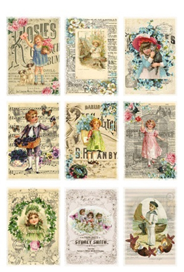 Happymade - RePrint - Klippeark - Antique Posters - KP0030
