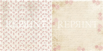Happymade - RePrint - Roses and Leaves - RP0224