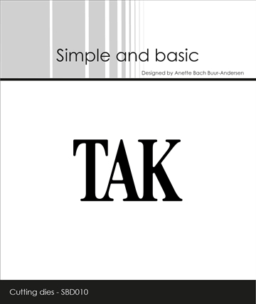 Happymade - Simple and basic - Die - Tak (SBD010)