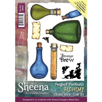 Sheena by Sheena Douglass - Rubber stamp - The Potions