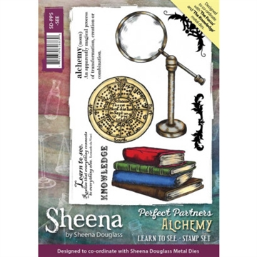 Sheena by Sheena Douglass - Rubber stamp - The Knowledge