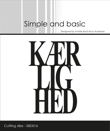 Simple and basic - Die - Kærlighed (SBD016)