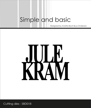 Simple and basic - Die - Julekram (SBD018)