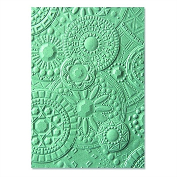 Happymade - Sizzix 3D Embossing folder - Mosaic Gems (663206)