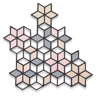 Happymade - Sizzix Thinlits Die - Diamond Cluster (661741)