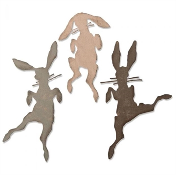 Happymade - Sizzix Thinlits Die - Bunny Hop (664421)