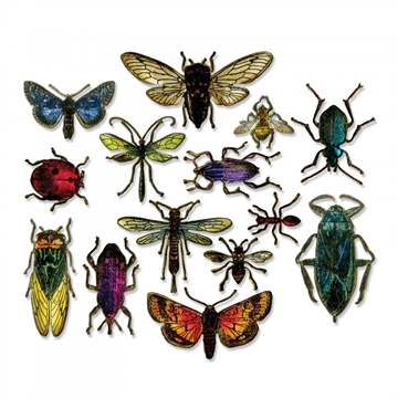 Happymade - Sizzix Thinlits Die - Entomology (663068)