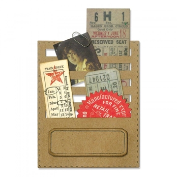 Happymade - Sizzix Thinlits Die - Stitched Slots (662697)