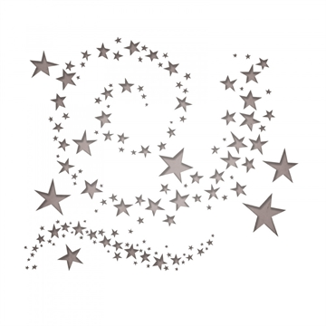 Happymade - Sizzix Thinlits Die - Swirling Stars (663095)