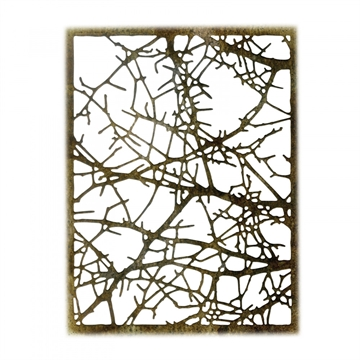 Happymade - Sizzix Thinlits Die - Tangled Twigs (663086)