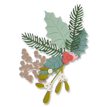 Happymade - Sizzix Thinlits Die - Winter Foliage (662571)
