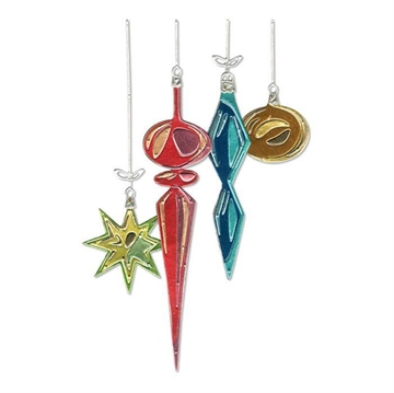 Happymade - Sizzix Thinlits Die - Hanging Ornaments (664197)