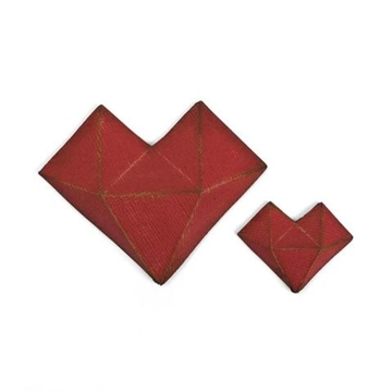 Happymade - Sizzix Thinlits Die - Faceted Heart (664156)