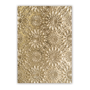 Happymade - Sizzix 3D Embossing folder - Kaleidoscope (663296)