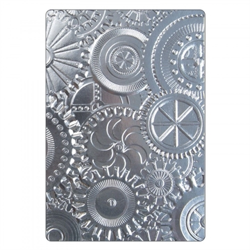 Happymade - Sizzix 3D Embossing folder - Mechanics (662715)