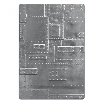 Happymade - Sizzix 3D Embossing folder - Foundry (662717)