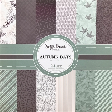 "Happymade - Soffie Bonde - Paper Pad - 12x12"" - Autumn Days"