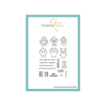 Happymade - Studio Katia - Clear stamp - Monster Bash - STKS063