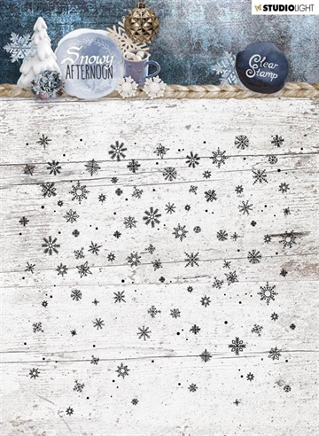 Happymade - Studio Light - Clear Stamp - Snowy Afternoon - STAMPSA401