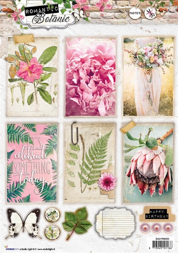 Happymade - Studio Light - Die cuts - Romantic Botanic (EASYRB585)