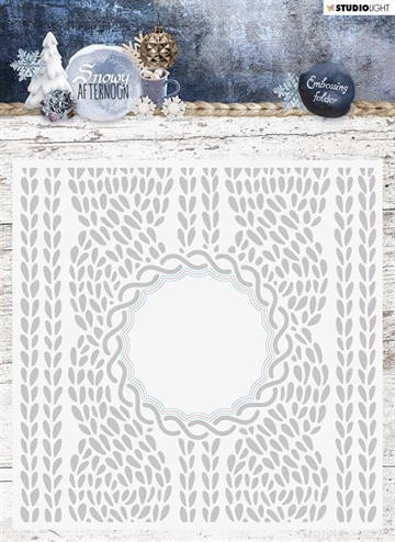 Happymade - Studio Light - Embossing folder w/die - EMBSA01