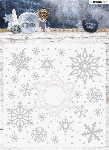 Happymade - Studio Light - Embossing folder w/die - EMBSA02
