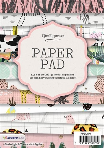 Happymade - Studio Light Paper Pad 15x15cm - PPSL106