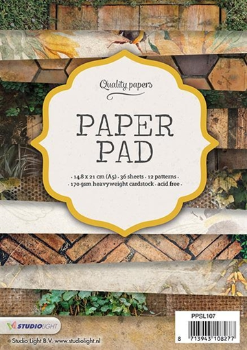 Happymade - Studio Light Paper Pad 15x15cm - PPSL107