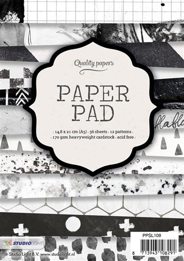 Happymade - Studio Light Paper Pad 15x15cm - PPSL109