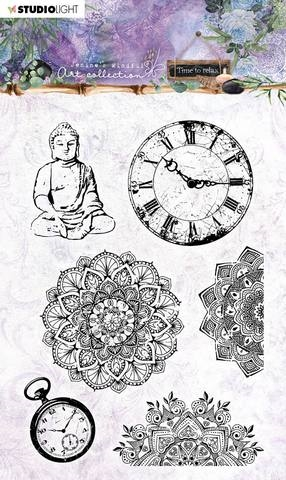 Happymade - Studio Light - Clear Stamp - Jenine's Mindful Art Collection - STAMPJMA17