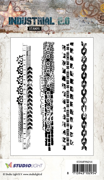 Happymade - Studio Light - Clear stamp - STAMPIN254