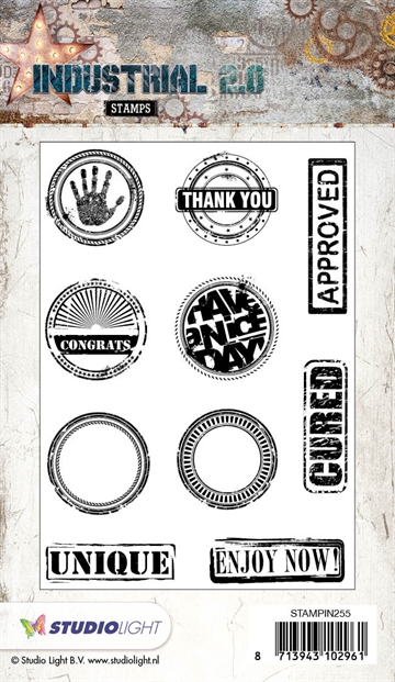 Happymade - Studio Light - Clear stamp - STAMPIN255