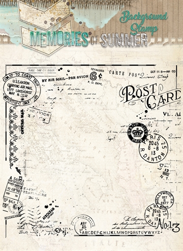 Happymade - Studio Light - Clear stamp - Memories - STAMPMS292