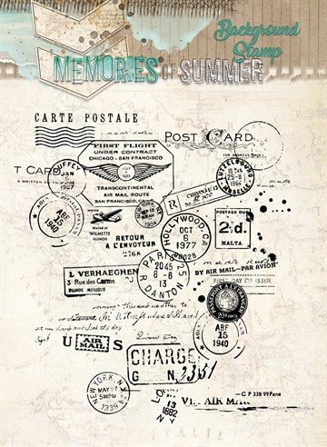 Happymade - Studio Light - Clear stamp - Memories - STAMPMS293