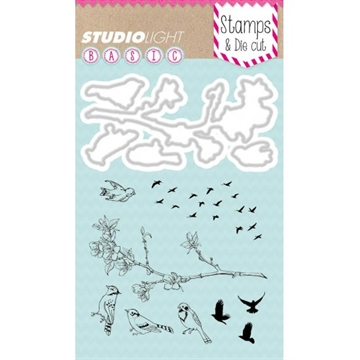 Happymade - Studio Light - Clear stamp and die - BASICDC08