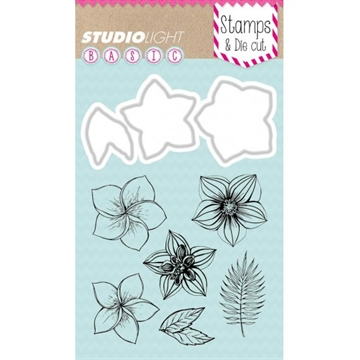 Happymade - Studio Light - Clear stamp and die - BASICDC10