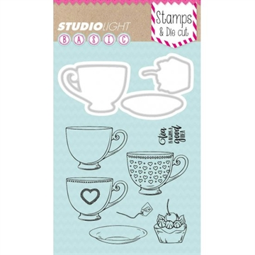 Happymade - Studio Light - Clear stamp and die - BASICDC11