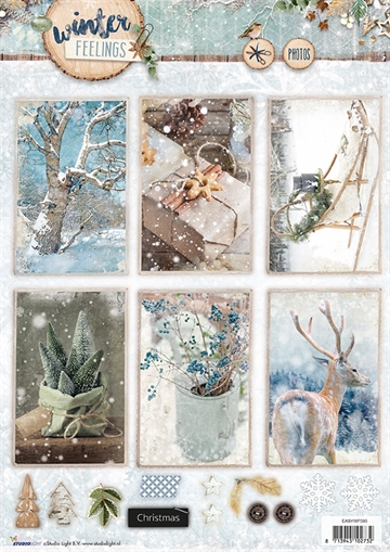 Happymade - Studio Light - Die cuts - Winter Feelings (EASYWF593)