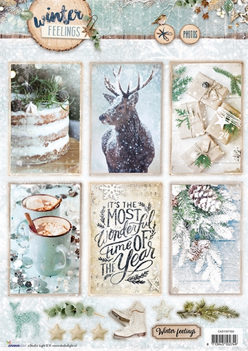 Happymade - Studio Light - Die cuts - Winter Feelings (EASYWF594)