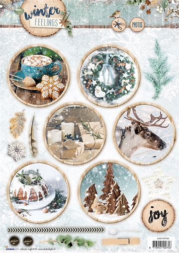 Happymade - Studio Light - Die cuts - Winter Feelings (EASYWF595)