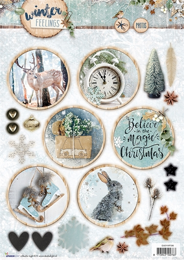 Happymade - Studio Light - Die cuts - Winter Feelings (EASYWF596)