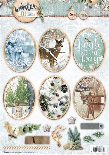 Happymade - Studio Light - Die cuts - Winter Feelings (EASYWF597)