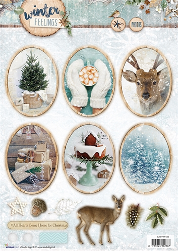 Happymade - Studio Light - Die cuts - Winter Feelings (EASYWF598)