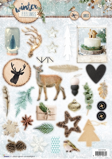 Happymade - Studio Light - Die cuts - Winter Feelings (EASYWF599)