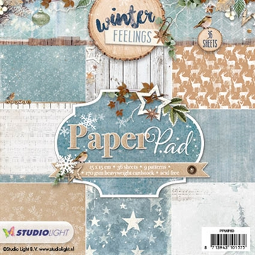 Studio Light Paper Pad 15x15cm - PPWF60