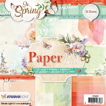 Happymade - Studio Light Paper Pad 15x15cm - PPSS75
