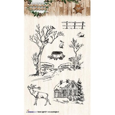 Studio Light Clear Stamp set - STAMPWW192